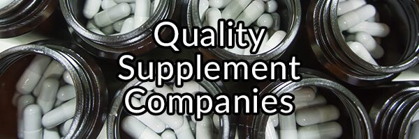 Quality Supplement Companies