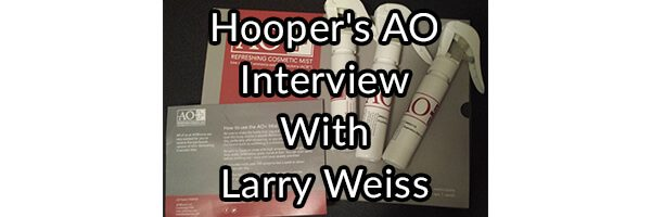 Hooper's AO Interview With Larry Weiss