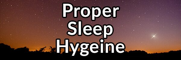 Why Proper Sleep Hygeine Is Important for Digestive Health