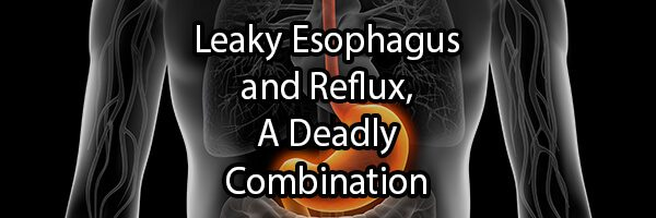 Leaky Esophagus and Reflux, A Deadly Combination
