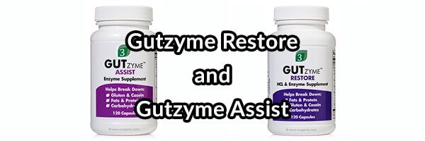Gutzyme Restore and Gutzyme Assist: Two Prime Digestive Enzymes